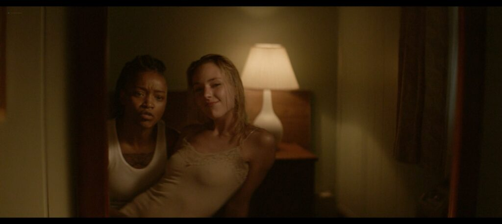 Keke Palmer nude lesbian sex with Haley Ramm Pimp 2018 1080p BluRay 9