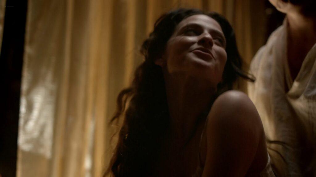 Lara Pulver nude sex Da Vincis Demons 2013 S1 1080p BluRay 8