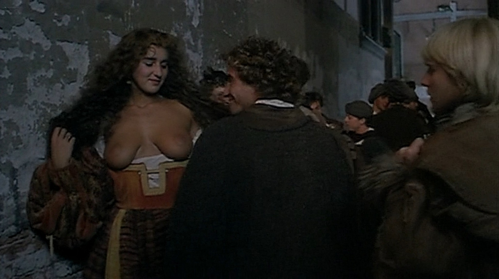 Laura Antonelli nude topless and sex Monica Guerritore nude topless and Clelia Rondinella nude lesbian sex La Venexiana 1986 DVDRip