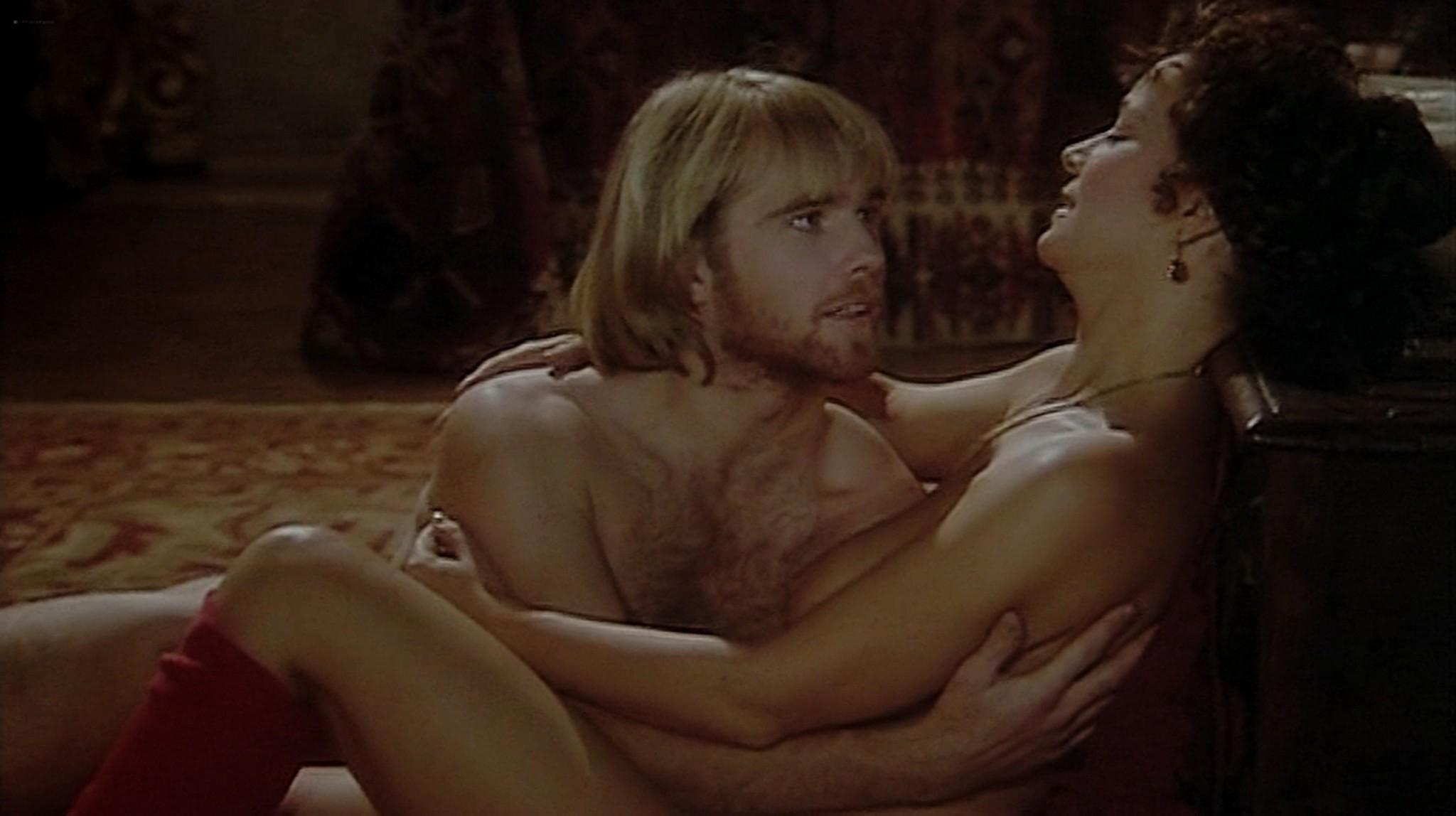 Laura Antonelli nude topless and sex Monica Guerritore nude topless and Clelia Rondinella nude lesbian sex La Venexiana 1986 DVDRip 11