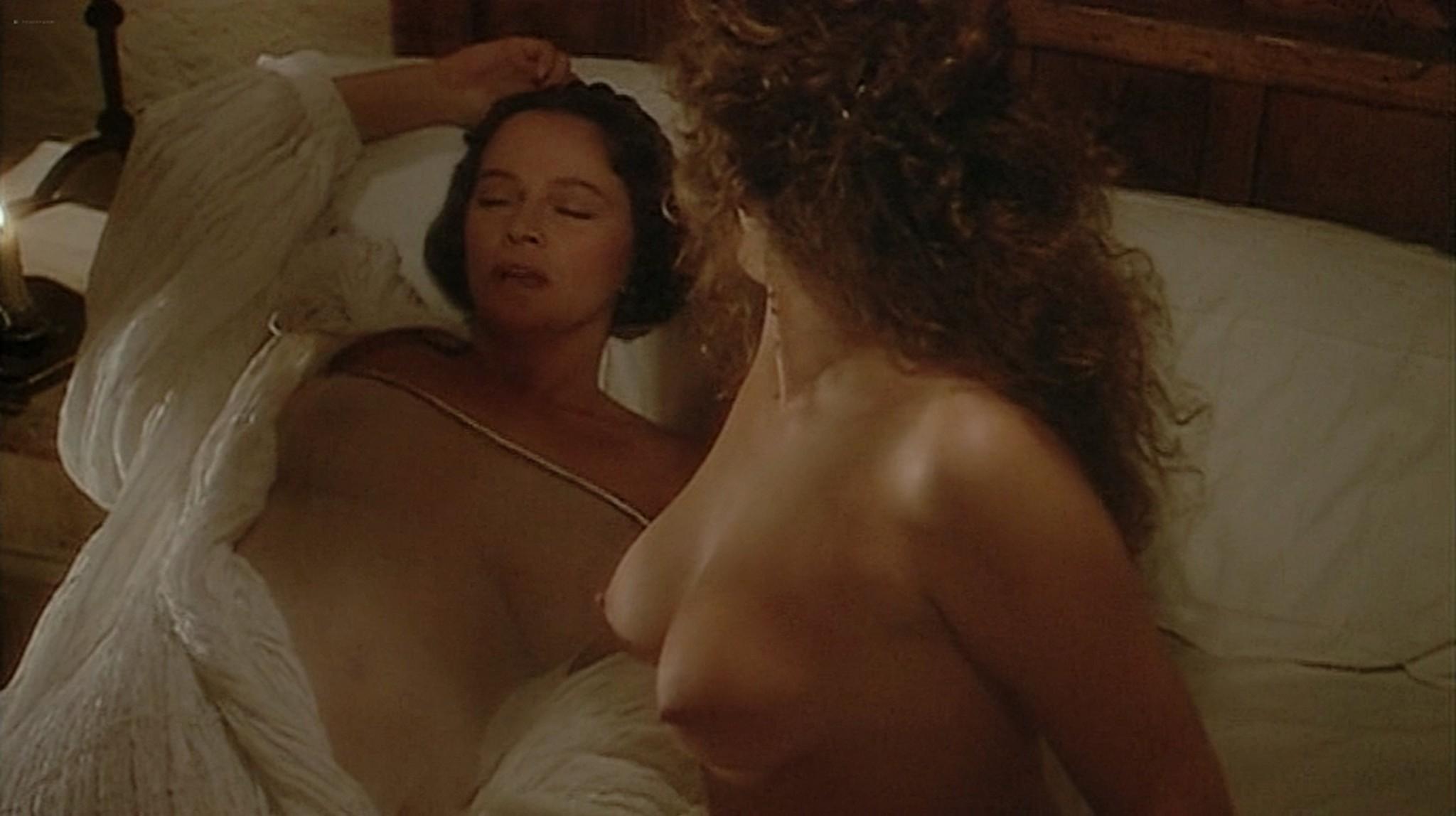 Laura Antonelli nude topless and sex Monica Guerritore nude topless and Clelia Rondinella nude lesbian sex La Venexiana 1986 DVDRip 5