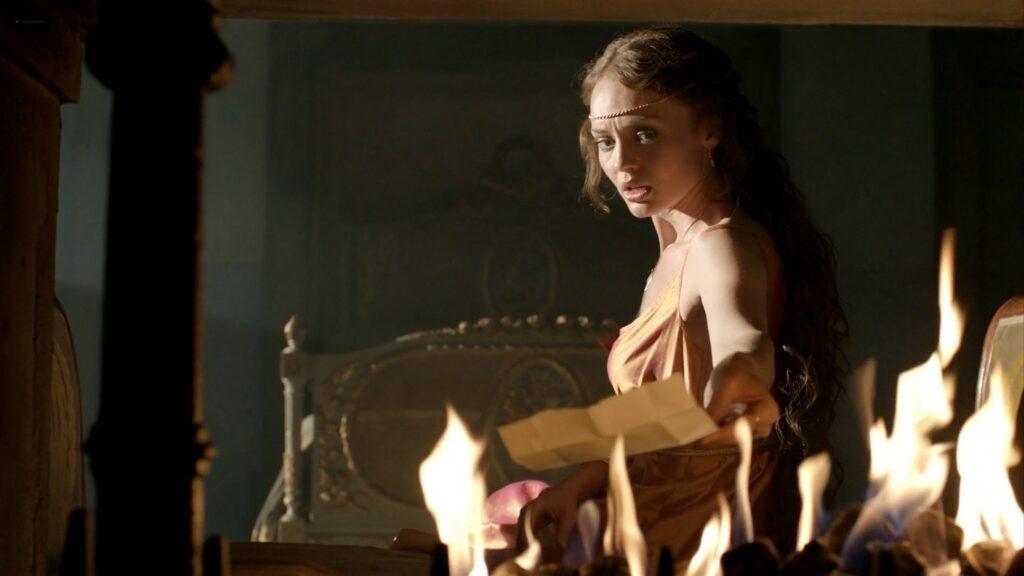 Laura Haddock nude full frontal bush and sex Da Vincis Demons 2013 S1 1080p BluRay 14