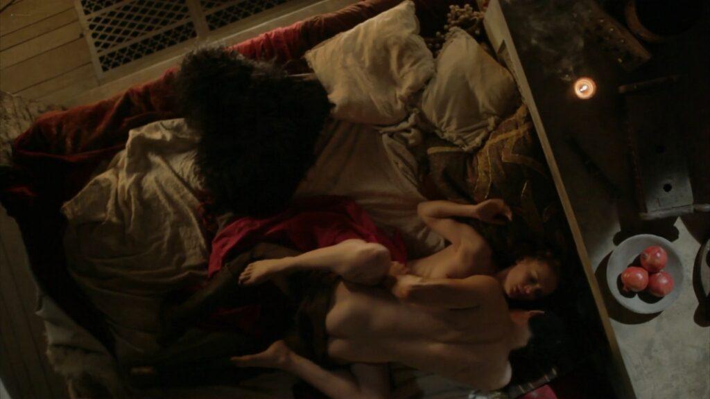 Laura Haddock nude full frontal bush and sex Da Vincis Demons 2013 S1 1080p BluRay 15