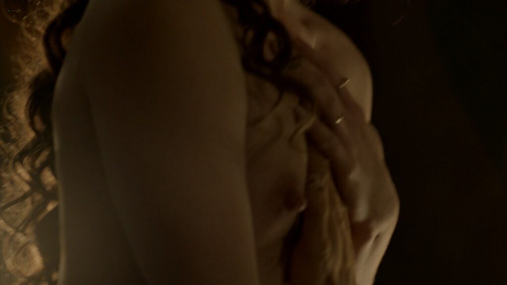 Laura Haddock nude full frontal bush and sex Da Vincis Demons 2013 S1 1080p BluRay 16