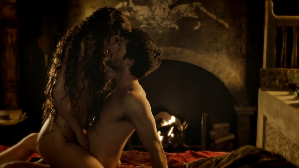 Laura Haddock nude full frontal bush and sex Da Vincis Demons 2013 S1 1080p BluRay 8