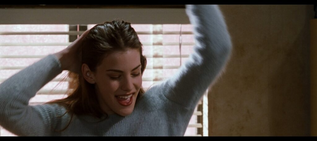 Liv Tyler hot striping to bra and undies and Renee Zellweger hot Empire Records 1995 1080p BluRay REMUX 24