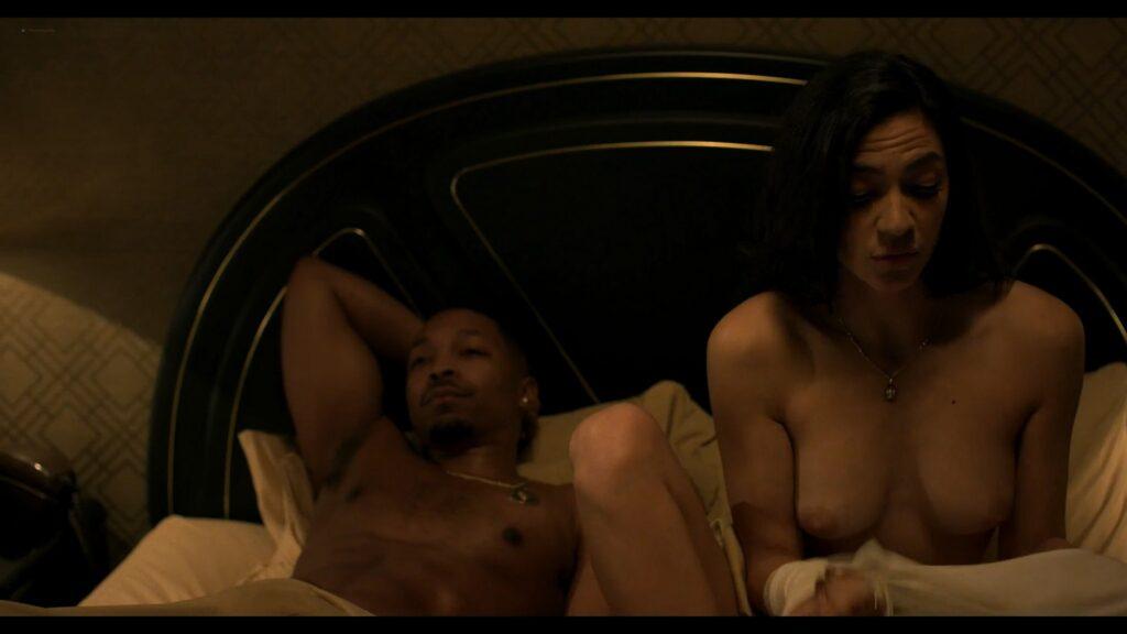 Natalee Linez nude topless Annalynne McCord sex doggy style Power Book III Raising Kanan 2021 s1e8 1080p Web 3