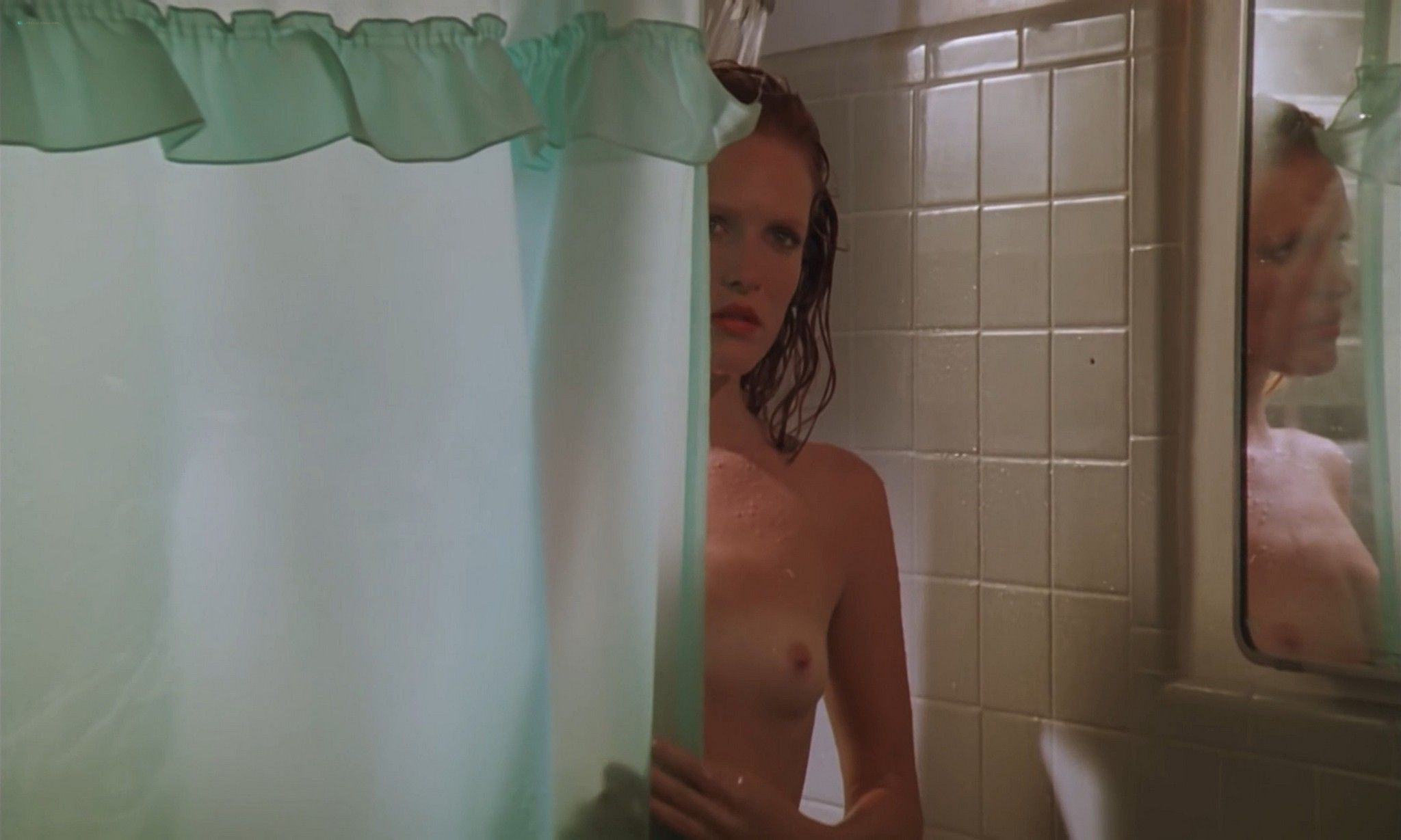 Victoria Prouty nude and sex in the shower American Rickshaw 1989 1080p BluRay 11