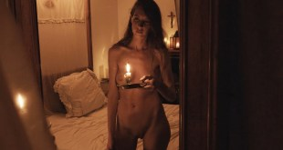 Laura Houvenagel nude full frontal butt and topless The Book of Antichrist 2021 1080p 10