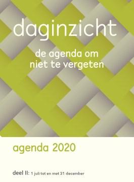 Daginzicht agenda 2020 – 1 juli t/tm 31 december