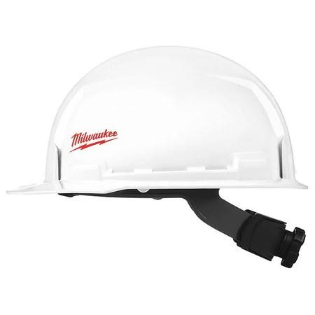 Milwaukee 48 73 1021 19 97 Front Brim Hard Hat W Bolt Accessories Type 1 Class E Zoro Com