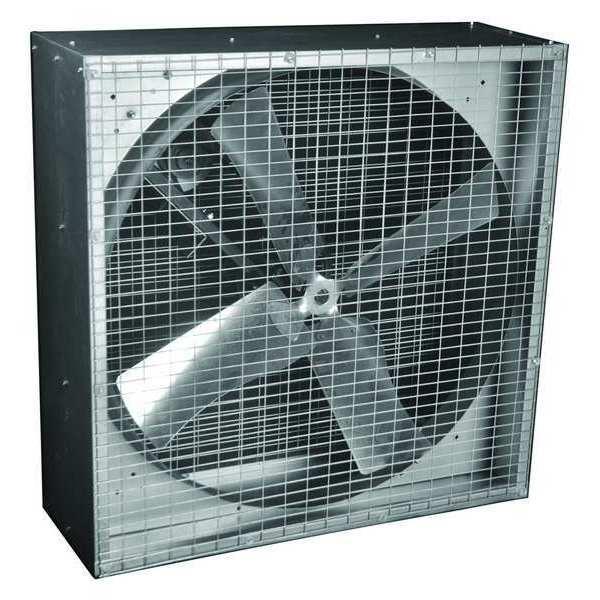 exhaust fan 36in belt drive less motor