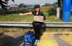 Aline Campbell em sua viagem pela Europa | Foto: Arquivo pessoal