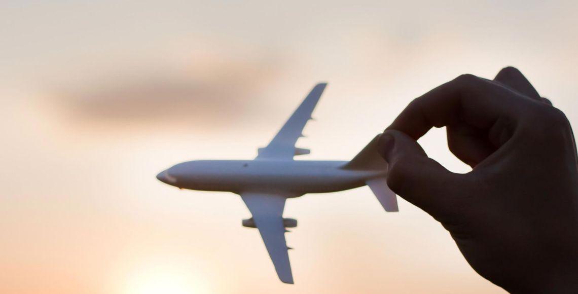 Aviãozinho de brinquedo