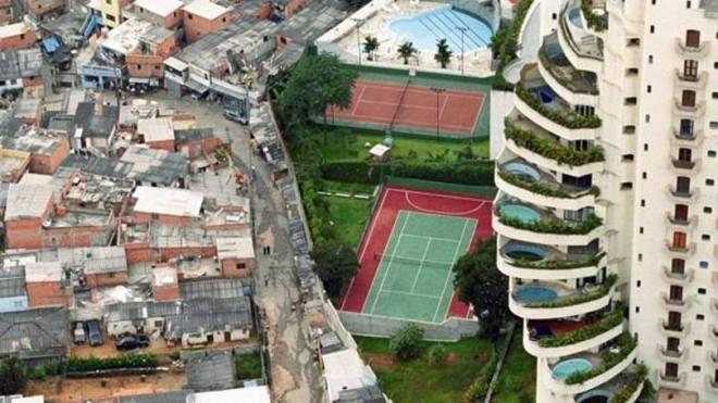 Desigualdade social em São Paulo | Foto: Tuca Vieira/ Wikimedia Commons
