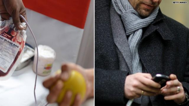 Na Suécia, o doador de sangue fica sabendo quando salvou uma vida | Foto: Getty Images