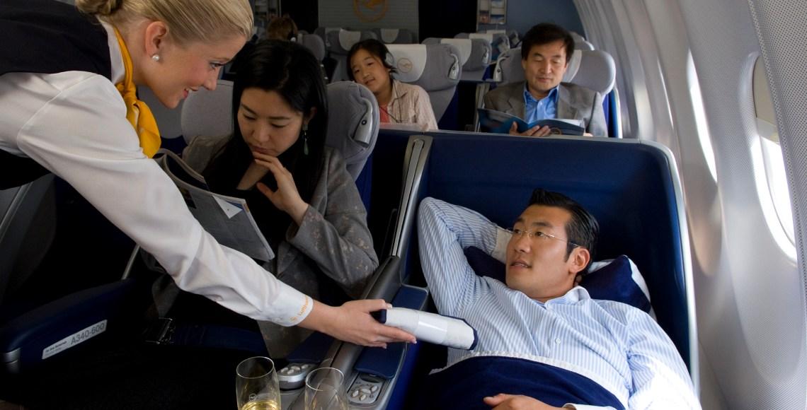 Business class da Lufthansa | Foto: Lufthansa