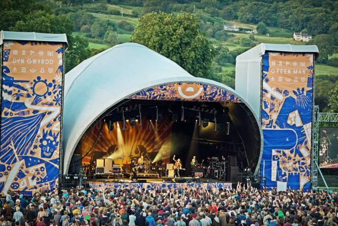 Além das bandas arrebentando no palco, o Greenman  tem a natureza ao redor como uma das principais atrações do festival. Muito bom |Foto: Divulgação