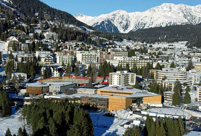 1° - Suíça. Na foto, Davos. | MadGeographer/CC