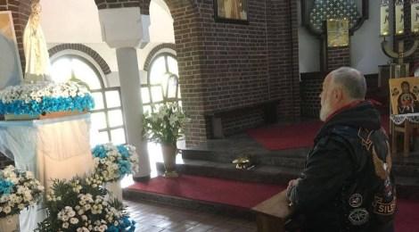 Motocykliści modlą się w Wilkowyjach i Fatimie
