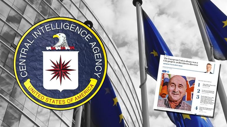 """""""Η Ε.Ε. είναι δημιούργημα της CIA"""""""