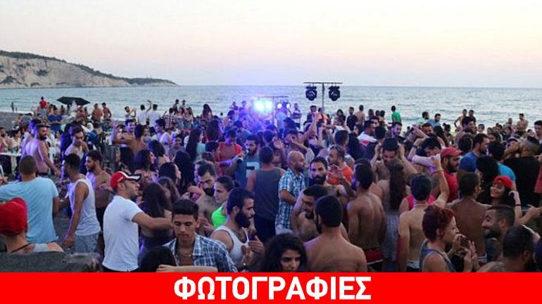 Η άλλη Συρία: Διασκέδαση και χορός στην παραλία