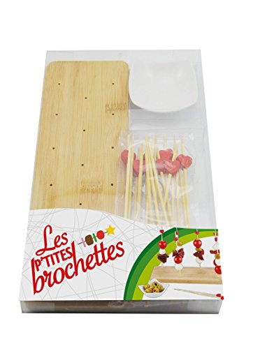 ard time pb bamgm coffret support a brochette bambou rectangulaire grand modele 3700873201609
