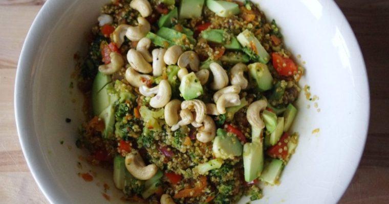 Thaise salade met quinoa