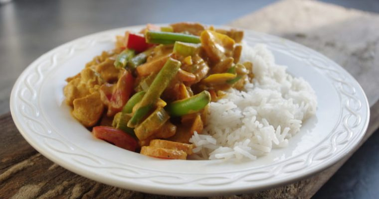 Thaise gele curry