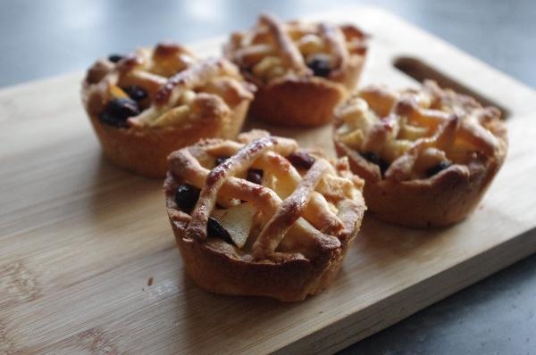 Mini-appeltaartjes (suikervrij)