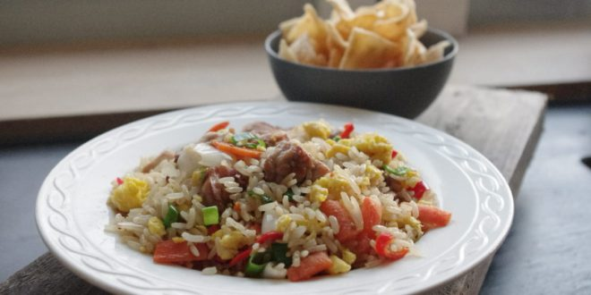 Authentieke Indonesische nasi goreng