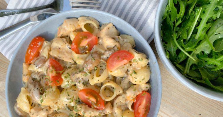 Wereldgerecht: Kipfilet Romana met pasta