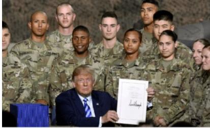 Тръмп подписа бюджет за отбрана 17 пъти по-висок от руския
