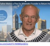 Бащата на Джулиън Асанж Джон Шиптън апелира създателят на Уикилийкс да се върне в къщи