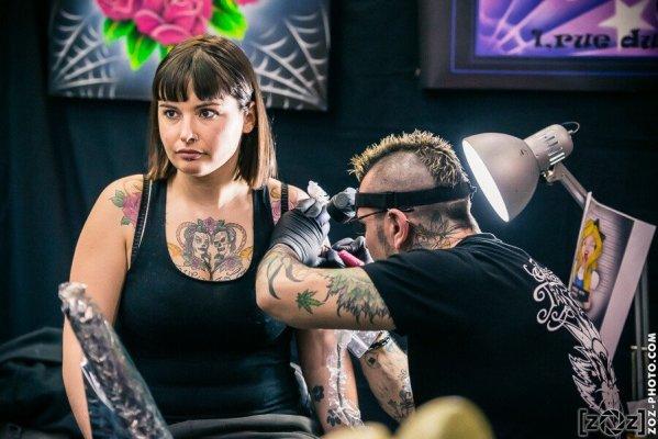 Convention de tatouage, Double Mixte (Villeurbanne), le 16 février 2014.