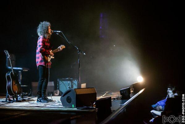 Karima Francis, théâtre du Léman (Genève), le 23 mars 2014.