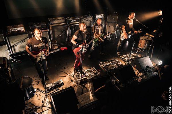 Dead Hippies, Electrochoc festival, Le Fil (Saint-Étienne), le 15 mars 2014.