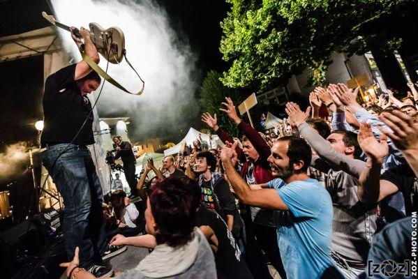Dead Hippies, festival Musiques en stock (Cluses), le 5 juillet 2014.