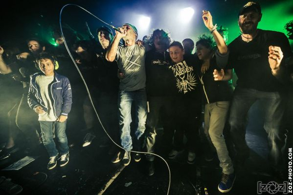 No One is Innocent, Foud'Rock festival (Magny-les-hameaux), le 11 octobre 2014.