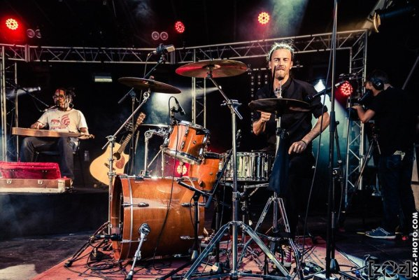 """Jack & the Giant Bean, festival """"Musiques en stock"""" (Cluses), le 4 juillet 2015."""