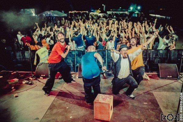 Naouack, festival Dézing (Pizay), le 22 août 2015.