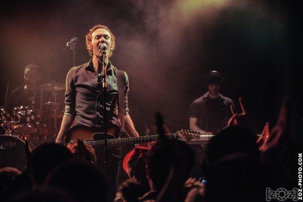 Concert au Transbordeur (Villeurbanne), le 21 janvier 2016.