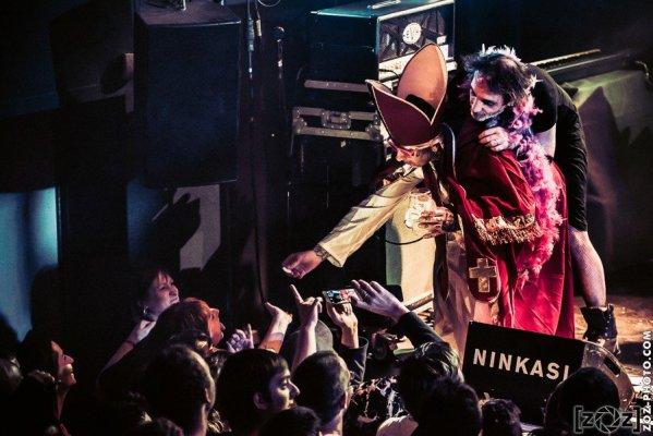 Concert au Ninkasi Kao (Lyon), le 6 février 2016.