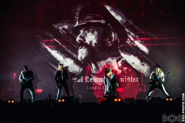 Gutterdämmerung au Hellfest à Clisson, le 18 juin 2016. Festival de musiques extrêmes et metal en France.