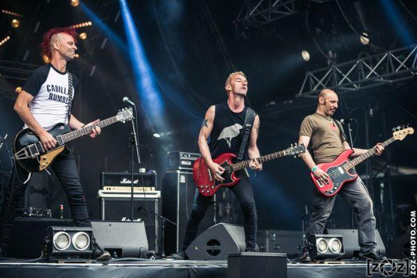 Les Sales Majestés au Hellfest à Clisson, le 18 juin 2016. Festival de musiques extrêmes et metal en France.