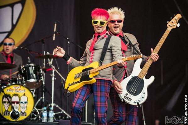 The Toy Dolls, Hellfest (Clisson), le 18 juin 2016.