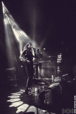 Zoham, concert au Jack Jack (Bron), le 14 mars 2017.