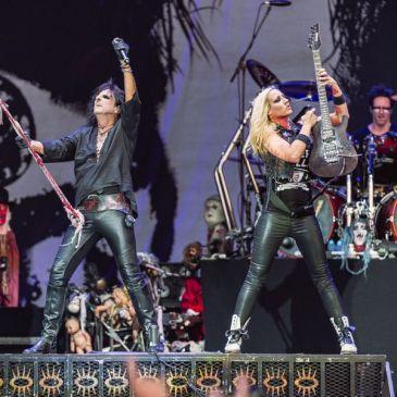 [zOz] journal: Alice Cooper, concert au Hellfest (Clisson), le 19 juin 2015.