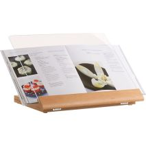 Cookbook Stand, 29.95 dolárov, http://www.crateandbarrel.com/cookbook-stand/s373796