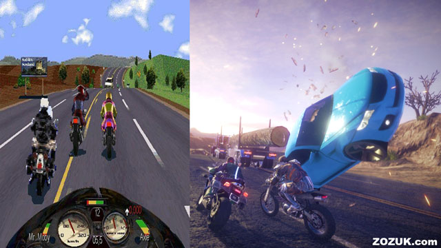 Road Rash and Road Redemption